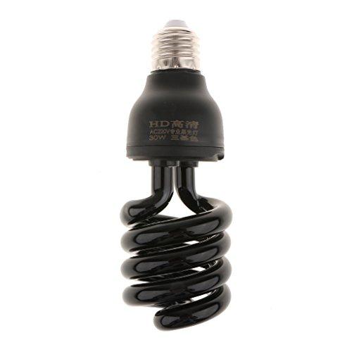 E27 UV Schwarzlicht Glühbirne Ultraviolette Lampe für Disco Bar Theater Club Party - Spiral Typ 30w