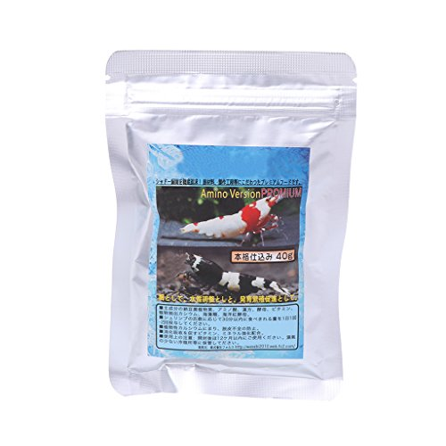 certylu Outils d'animal familier, Alimentation de Nourriture d'escargot de crevette de natto de Neige 40g Se nourrissant pour l'étang de réservoir de Poissons d'aquarium