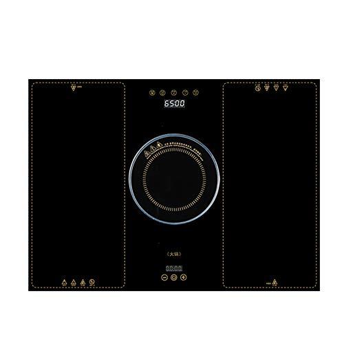 BLLXMX Multifunktions-Heizplatte für tragbare Kochplatten, 50-110 Grad Wärmeschutz-Temperaturregelung, 2100 W Heizleistung