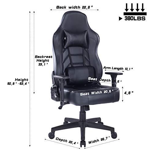 Wolmics Ruhender Gaming-Stuhl Bild 6*