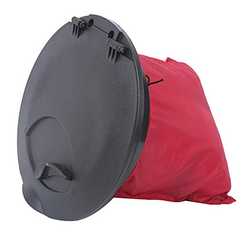 Romantic PresentFishing Boat Accessory, Lightweight Portable 9IN 650g Standard Round Compartment Cover, Round Compartment Cover, Access Cover Compartment Cover, Canoeing For Fishing Boat