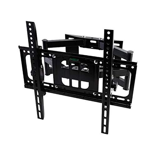 Soporte tv suelo Montaje de pared de TV de movimiento completo con soporte giratorio y extendtv con brazo de articulación giratorio, Max Vesa 400x400mm, TV Mounts Soporte de TV para la mayoría de los