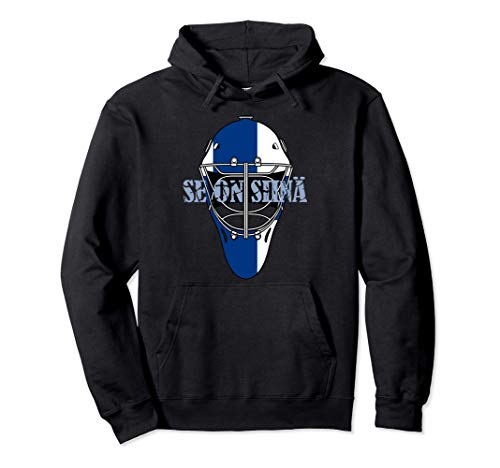 Suomi Finnish Se On Siinä Finnland Ice Hockey Gift Pullover Hoodie