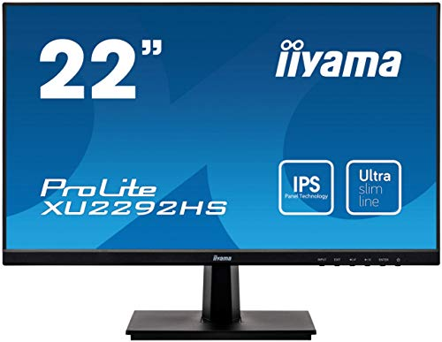 "iiyama ProLite XB2483HSU-B3 Ecran LED 22"" AMVA Full HD VGA/DP/HDMI Hub USB 2.0 Pied réglable en hauteur Multimédia Noir"
