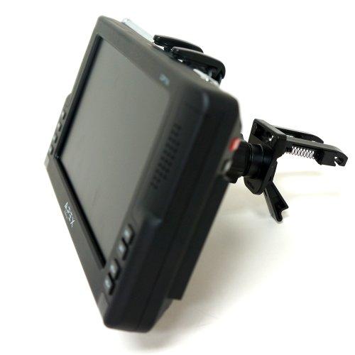 "ChargerCity Exclusive Dual Spring Lock Universal 7"" GPS & Tablet Vent Mount for Garmin Nuvi 2797 2757 Magellan Roadmate 1700 9020 9055 LM MU GPS Navigator"
