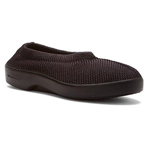 Arcopedico - Mocasines para mujer, color negro, talla 43.5