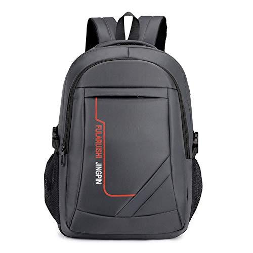 dinitianer Men's Computer Bag usb15 6 Inch Men's Computer Bag Business Backpack Large Capacity Backpack Bag Gray