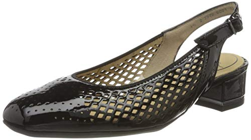 ara Damen GRAZ Slingback Pumps, (Schwarz 01), 38.5 EU(5.5 UK)