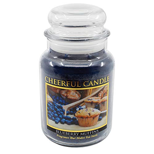 A Cheerful Giver Blueberry Muffins 24 oz. Jar Candle, 24oz
