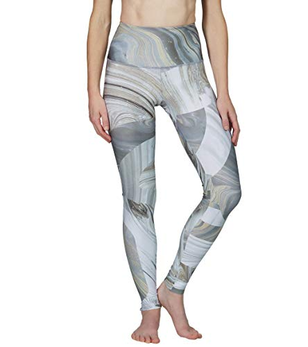 Onzie Hot Yoga High Rise Legging 276 Marble Geo, S/M, Marble Geo