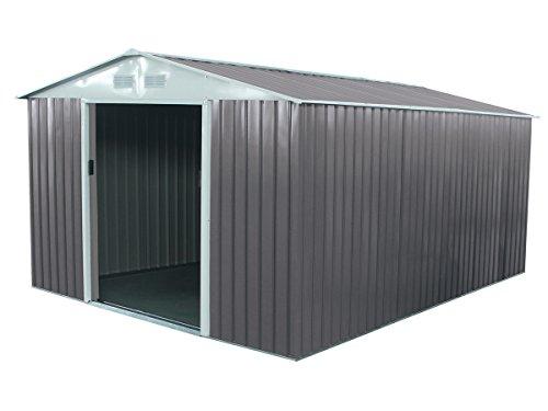 Habitat et Jardin - Abri de Jardin métal Dallas - 12.99 m²
