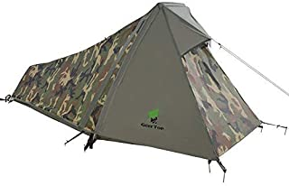 GEERTOP テント 1人用 超軽量 コンパクト 防水 3~4シーズン BIVY 登山 キャンプ ハイキング 屋外用