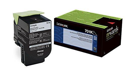 LEXMARK International 70C10K0 70C10K0 Toner (LEX-701K) 1000 Page-Yield, Black Photo #6