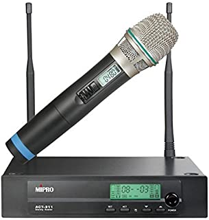 Mipro ACT-311/ACT-30H Single Channel Wireless System - Handheld Mic