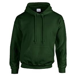 Undercover Gildan Hooded Sweatshirt Heavy Blend Plain Hoodie Pullover Hoody from
