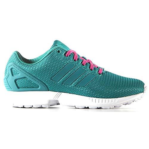 adidas ZX Flux W - Zapatillas deportivas para mujer, Verde (verde), 36 2/3 EU