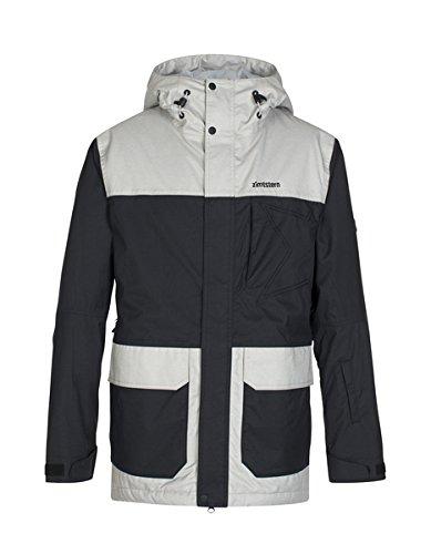 Zimtstern Herren Snow Jacket Jontez, Black, S