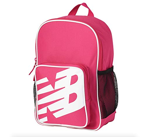 New Balance Sportlicher Kinder-Rucksack, Exuberant Pink (Pink) - LAB01001-EPK
