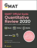 GMAT Official Guide Quantitative Review 2020: Book + Online Question Bank