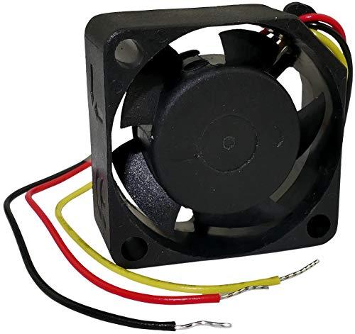 AERZETIX - Ventilador Axial de Refrigeración - Vapo - 5V DC - 25x25x10mm - 5.92m3/h - 13000rpm - 0.105A - 0.530W - 23dBA - C46889