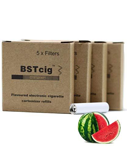 Filtros cartomizadores Cigarrillo electrónico para BSTcig en sabor a Sandía sin nicotina