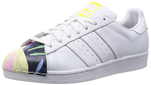 adidas, Herren Superstar Pharrell Supershell, Weiß/Dunkelblau, 44
