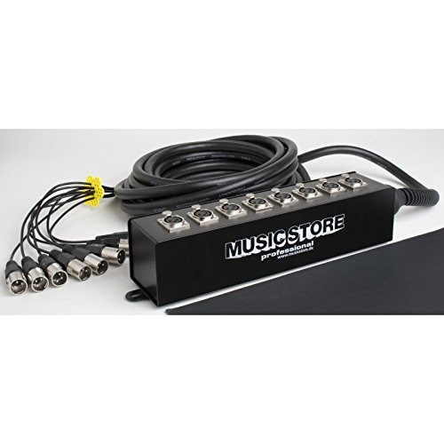 Multicore 8xXLR, 10m, Stagebox