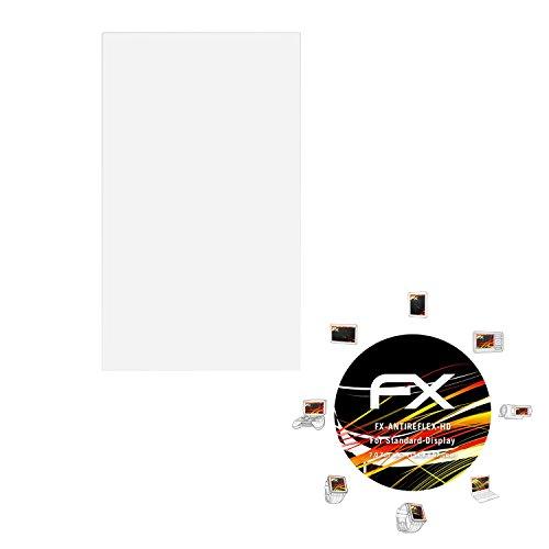 atFoliX Schutzfolie kompatibel mit Standard-Display 7,0 Zoll Wide (154,8 x 87,0mm) Displayschutzfolie, HD-Entspiegelung FX Folie (3X)
