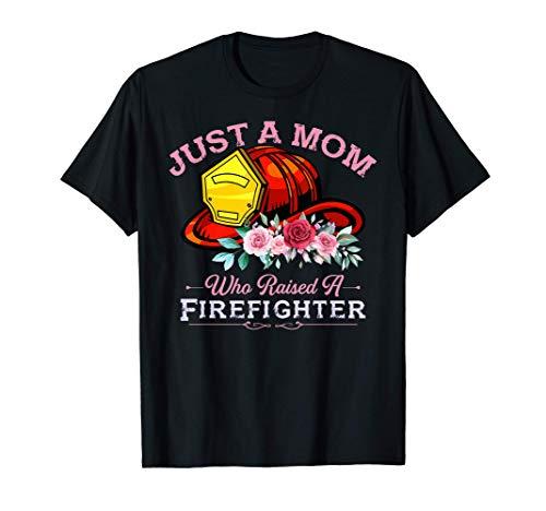 Mamá que crió a un bombero Regalo de rescate de bomberos Camiseta