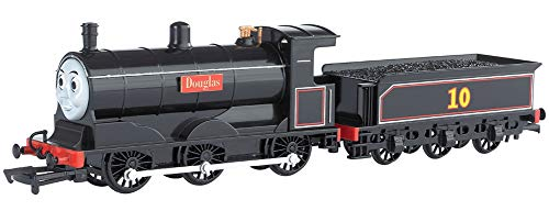 Bachmann Trains - THOMAS & FRIENDS DOUGLAS ENGINE w/Moving Eyes - HO Scale