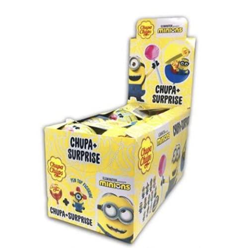 Chupa Chups con sorpresa Minions - sorprese da collezionare lecca lecca party feste (16)