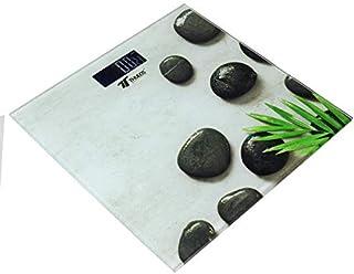 Thulos Báscula de Baño Digital Con plataforma de Cristal