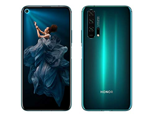 Huawei Honor 20 Pro 128GB 8GB RAM (GSM Only, No CDMA) Factory Unlocked 4G/LTE Smartphone - International Version (Green)
