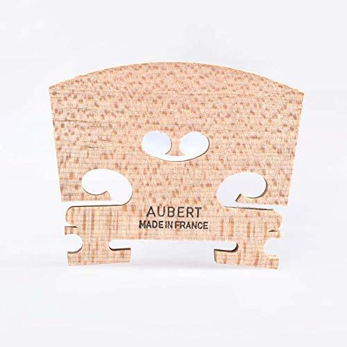 ABMBERTK Original Aubert Violin Bridge Größe 4/4, 3/4, 1/2, 1/4 Professionelles Violin Zubehör, Made in France, Größe 1 4
