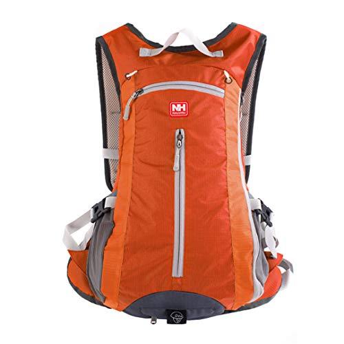 HENDTOR Outdoor Rucksack Radfahren Rucksack Sport Wandern Klettern Trink Wasser Beutel Fahrrad Rucksack 15L Orange Other