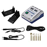 Zeta Dental Lab Electric Wax Carving Knife with Machine Double Pen and 6 Wax Tip 110v