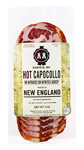 Daniele New England Sliced Hot Capocollo