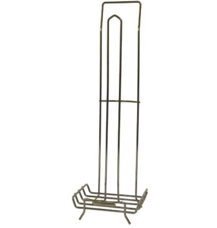 誘惑引き算物理的にグローバルアローTralle Wire Toiletpaper Holder ブロンズ サイズ:約W14 D12 H43 B04-3101