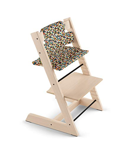 Coussin chaise haute Tripp Trapp coton bio Honeycomb Happy - Stokke