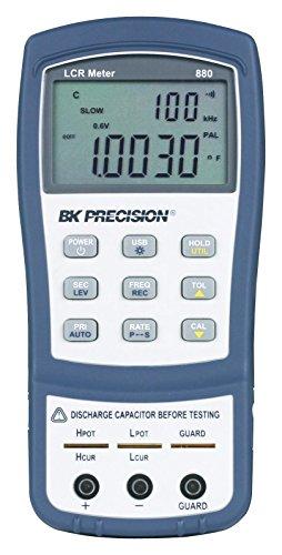 B&K Precision 880 100 kHz Handheld LCR Meter, Blue