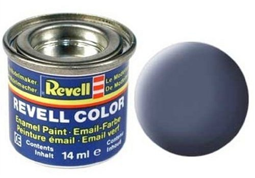 Peinture émail Revell gris mat