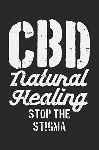 CBD Natural Healing: Dot Grid Journal -...