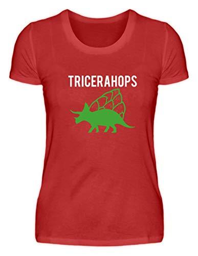 Generic Tricerahops – Camiseta de triceratops con lúpulo en la espalda –...