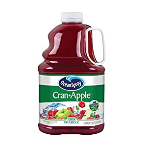 Ocean Spray Cranberry Apple Juice, 101.4-Ounce (Pack of 6) |