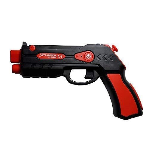 Xplorer Controlador Móvil, Videojuego, Entretenimiento para el Hogar, Niños y Adultos, Blaster Red
