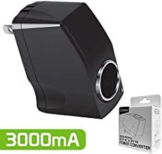 Cellet Universal 12V Output AC Wall to DC Car Cigarette Lighter Port Power Converter..