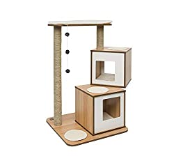 Vesper cat double condo and tower, cat tree, cat gym