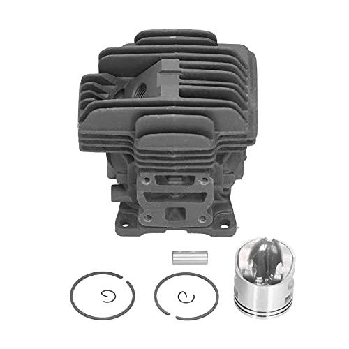 CUTULAMO Zylinder Rebuild Kit, 40mm Zylinder Kettensäge Ersatzteile für MS201 MS201T