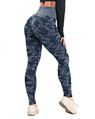 ▍All-OVER JACQUARD CAMO PATTERN - CFR vital seamless leggings. made of high performance fabric. Super stretchy, squat proof, non see-through, moderately thick, breathable. Perfect for running, gym workout, yoga, fitness or daily outfit. ▍HIGH WAISTED...