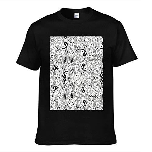 maichenxuan Die Antwoord - Camiseta de manga corta para hombre, color negro